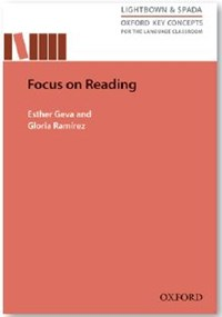 focus on reading book cover