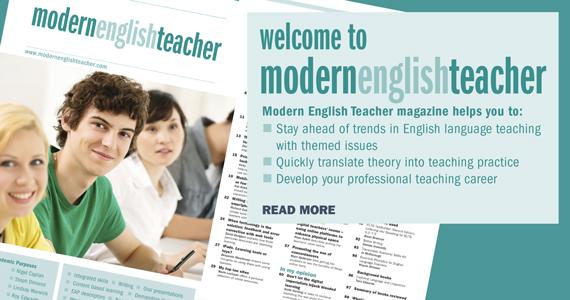 Modern English Classroom ~ Home met